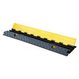 STANDARTPARK ККР 2-12 Дорожный кабель-канал имеет надежную, но очень простую конструкцию. Корпус канала – черного цвета, который изготовлен из резины и в нем находятся каналы для укладки кабеля. Крышка – желтого цвета.Ширина, мм: 250 мм,Высота, мм: 45 мм,