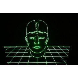 MEDIALAS Power VX 1000 Зеленый лазерный проектор, мощность >1W. 70 kpps (45kpps ILDA test)