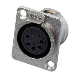 BESPECO XLR5FP Разъем XLR-F панельный, 5pin