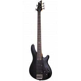 "SCHECTER SGR C-5 BASS BLK Гитара бас, 5 струн, корпус липа, гриф клен, лады 24 Medium, мензура 34"""