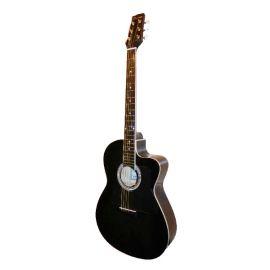 """CARAYA C901T-BK Акустическая гитара, с вырезом, Размер: 39"""". Форма корпуса: с вырезом. Мензура: 648м"""