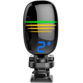 FZONE FT-16 Тюнер хроматик, дисплей многоцветный, прищепка, черный