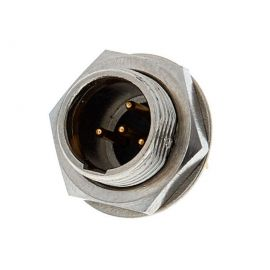 NEUTRIK RT4MPR Разъем MINY XLR, 4 PIN Разъем  панельный, 4 контакта, штекер, макс. толщина панели 6мм
