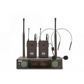 XLINE MD-272B Радиосистема двухканальная c двумя поясными передатчиками и головными гарнитурами