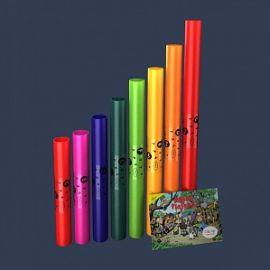 Boomwhackers BWDG Boomwhackers Музыкальные трубки, диатонический набор 8 нот