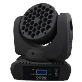 BIG DIPPER LM108A Моторизированный светодиодный прожектор заливающего света RGBW 36*3 Вт.Питание: 100-240V, 50/60Hz. Источник света: 36*3 Вт (8 красных, 10 зеленых, 10 синих, 8 белых светодиода) Потребляемая мощность: 150 Вт DMX канал: 9/16