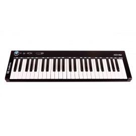 AXELVOX KEY49j black MIDI-клавиатура 4-октавная (49 клавиш) динамическая MIDI-клавиатура USB,
