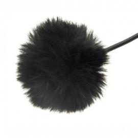 Fotokvant MZ-M Black меховая ветрозащита для петличного микрофона