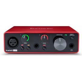 FOCUSRITE SCARLETT SOLO 3RD GEN аудио интерфейс USB, 2 входа/2 выхода