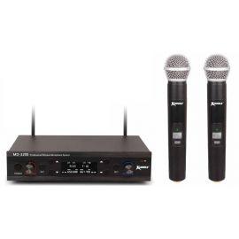 ENBAO MD-3200 ручной радиомикрофон UHF,состоящая из двух ручных микрофонов-передатчиков и приёмник