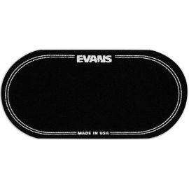 EVANS EQPB2 EQ Наклейка (черная) на рабочий двойной пластик бас-барабана для педалей Evans EQ Double