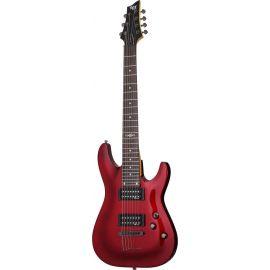 SCHECTER SGR C-7 M RED Гитара электрическая, 7 струн, корпус липа, гриф клен, лады 24 Medium