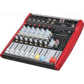 B&G ST-62 Пульт микшерный, 4 моно, 2 стерео, USB/SD MP3 плеер, процессор эфектов, 7 полосный эквалайзер