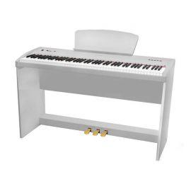 SAI PIANO P-9WH Цифровое пианино, 88 клавиш, молоточковая механика, 3 уровня чувствительности, 8+130 тембров, 64 голосая полифония, хорус, реверберация, MP3 плеер/рекордер, 4 демо, усилитель 2*14Вт