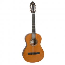 VALENCIA  VC203 Гитара классическая 3/4, верхняя дека: ель, нижняя дека и обечайка: нато, гриф: жабон, накладка грифа и нижний порожек: махагон, колки: винтажные, никель, цвет натуральный