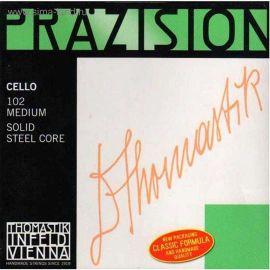 THOMASTIK 102 Precision Комплект струн для виолончели размером 4/4, среднее натяжение