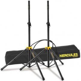 HERCULES SS200B Стойка (пара) для акустической системы с переходником, высота 1280-2050мм, макс. нагрузка 45 кг SS200B