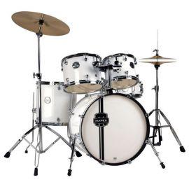 "MAPEX VR5254SW Ударная установка из 5-ти барабанов ""Voyager Series"": BD22*16, SD14*5,5, TT12*9, TT13*10, FT16*16; стойки 330 серии, цвет Snow White VR5254SW"