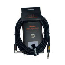 IBANEZ DSC20L инструментальный кабель Jack 1/4' mono (прямой) - Jack 1/4' mono (угловой), длина 6,1