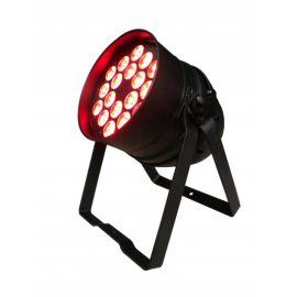 HIGHENDLED YHLL-088 Световой прибор светодиодный, 18 х 10 Вт RGBWA+UV (6 в 1) диодов, угол раскрытия луча 40°, LED дисплей, потребляемая мощность: 165 Вт, габариты(см): 34х27х22, вес: 5.37кг