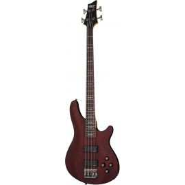 SCHECTER OMEN-4 WSN Гитара бас, 4 струны, корпус: липа, гриф:клён