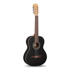 7.232 Classical Student 1C Black Satin Классическая гитара, черная, Alhambra