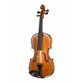 GLIGA B-V044-Set Beginer Genial 2 Nitro Скрипка 4/4 с чехлом,Модель: страдивари.Верхняя дека: массив ели.Задняя дека и обечайка: клен.