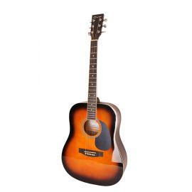 CARAYA F600-BS Акустическая гитара, санберст