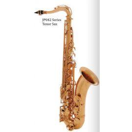 JOHN PACKER JP042G Саксофон тенор Bb, золотой лак, двойной вал B и C-клапанов.