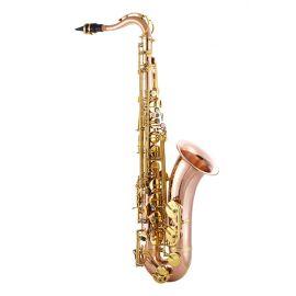 JOHN PACKER JP042R Саксофон тенор Bb, розовая латунь,высокий клапан F#, передний клапан F, итальянские кожаные подушки с резонаторами, пружины из вороненой стали, крепление лиры.