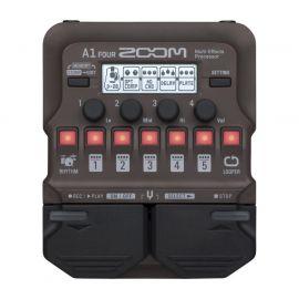 ZOOM A1 FOUR Универсальный процессор для музыкальных инструментов. Акустическая гитара, саксофон, тромбон, скрипка, губная гарманика, контрабас и т. д.