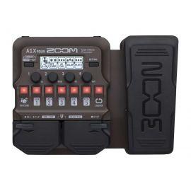 ZOOM A1X FOUR Универсальный процессор для музыкальных инструментов с педалью экспрессии. Акустическая гитара, саксофон, тромбон, скрипка, губная гарманика, контрабас и т. д.