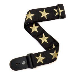 PLANET WAVES 20T05 Тканный ремень для гитары, рисунок «Gold Star»