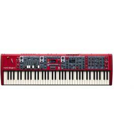 CLAVIA NORD Stage 3 Compact синтезатор, 73 клавиши, полувзвешенная, тип «Водопад», диапазон: E