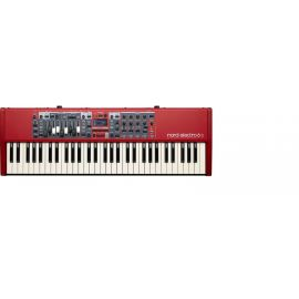 CLAVIA NORD Electro 6D 61 синтезатор, 61 клавиша (5 октав, C-C), полувзвешенные клавиши, вес 8,1 кг