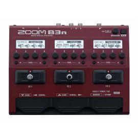 ZOOM B3n мульти педаль эффектов для бас гитары с встроенным эмулятором кабинета/БП в комплекте