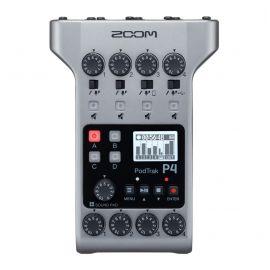 ZOOM PODTRAK P4 Аудиорекордер для подкастов Компактный, доступный и многофункциональный
