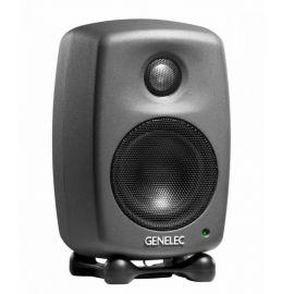 """GENELEC 8010AP активный 2-полосный монитор, НЧ 3"""" 25Вт, ВЧ 0.75"""" 25Вт. Подставки. Темный"""
