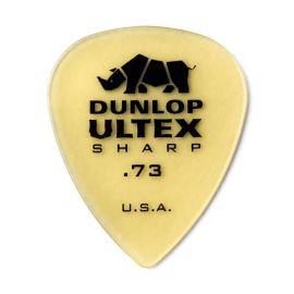DUNLOP 433R.73 Ultex Sharp Медиаторы 1 шт, толщина 0,73мм