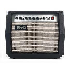"BG GA20 Усилитель гитарный комбо, 20 Вт, 6,5"", : Input, Gain, Overdrive S/W Volume, Treble, Middle,"