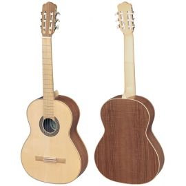 HORA SS400 Eco Ash Классическая гитара,Верхняя дека - массив ели, нижняя дека - ясень, гриф - клен.