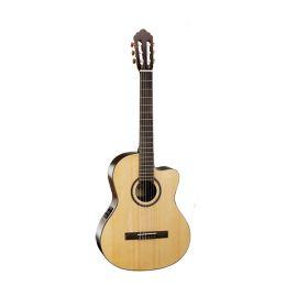 CORT AC160CF-NAT Classic Series Классическая гитара со звукоснимателем, с вырезом