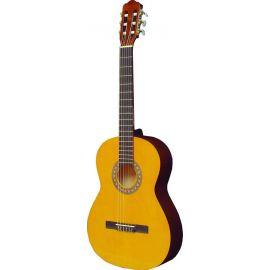 HORA N1117-4/4 Laura Классическая гитара.Верхняя дека - МАССИВ ЕЛИ, нижняя дека - ламинат липы, Гриф - клен, накладка грифа - твердые породы дерева черного цвета, розетка - переводная картинка. Hora. Румыния.