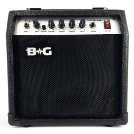 "BG PG15 Усилитель гитарный комбо, 15 Вт, 6,5"", Input, Gain, Boost switch, Volume, Treble, Middle, B"