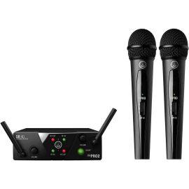 AKG WMS40 Mini2 Vocal Set US25AC (537.5/539.3) вокальная радиосистема с приёмником SR40 Mini Dual и двумя ручными передатчиками