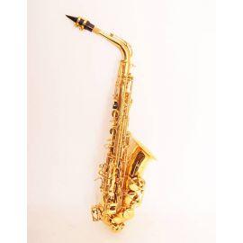 CONDUCTOR FLT-SAL Саксофон АЛЬТ Eb, верхний F# клапан, лакированный, цвет - золото