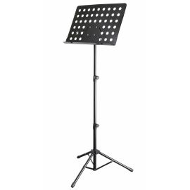 DEKKO JR-204 Пюпитр оркестровый (дирижёрский) с большим лотком для нот и усиленной конструкцией.