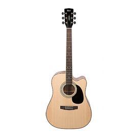 CORT AD880CE-NS Standard Series Электро-акустическая гитара, с вырезом, цвет натуральный