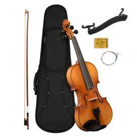 CASCHA HH-2050 Скрипка 4/4, с футляром, смычком, запасными струнами, мостиком и канифолью