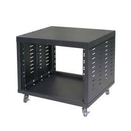 TEMPO RK8W рэк-шкаф, 8 мест, колеса, цвет черный.